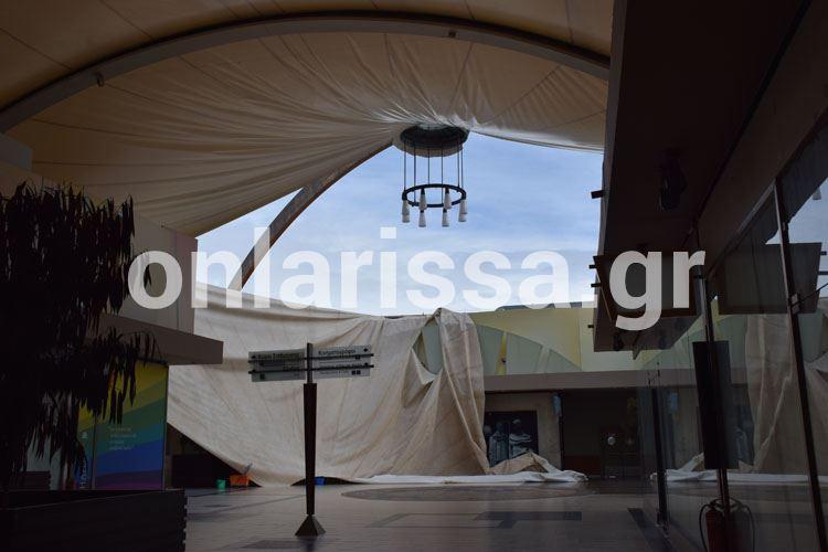 Έπεσε η οροφή του Pantheon Plaza από το χιόνι! - Δείτε φωτογραφίες