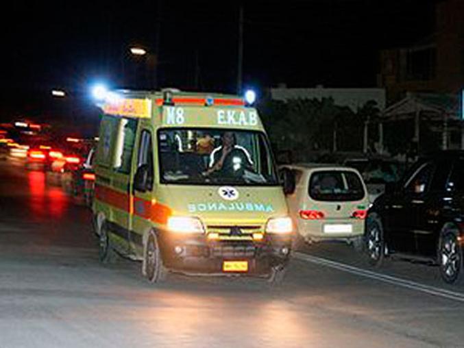 Τροχαίο στο κέντρο της Λάρισας - Τραυματίας ένας άντρας