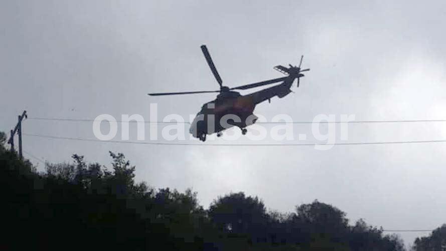 Κάτοικοι Λάρισας οι τέσσερις από τους πέντε επιβαίνοντες στο μοιραίο ελικόπτερο