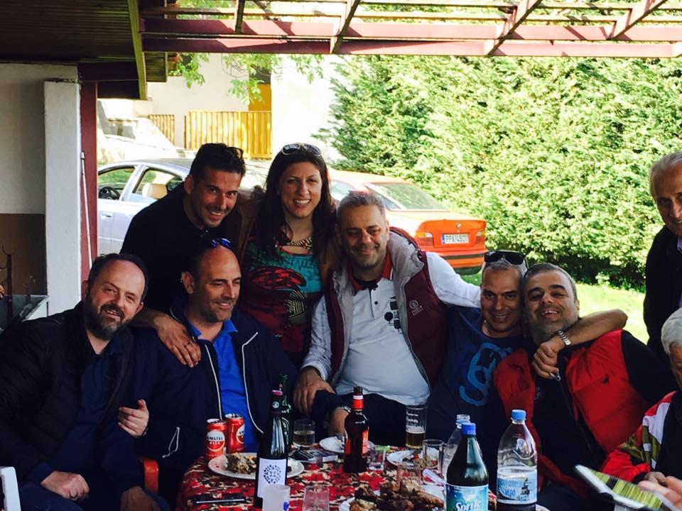 Πάσχα σε Λάρισα και Πλαταμώνα έκανε η Ζωή Κωνσταντοπούλου (Φωτό)