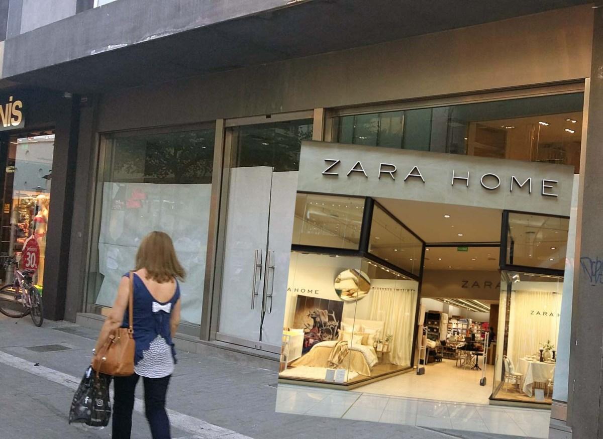 Ανοίγει και Zara Home στη Ρούσβελτ, στο χώρο όπου στεγάζονταν τα H&M