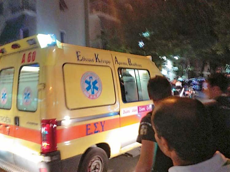 Αυτοκίνητο παρέσυρε δύο πεζούς στην οδό Φαρσάλων