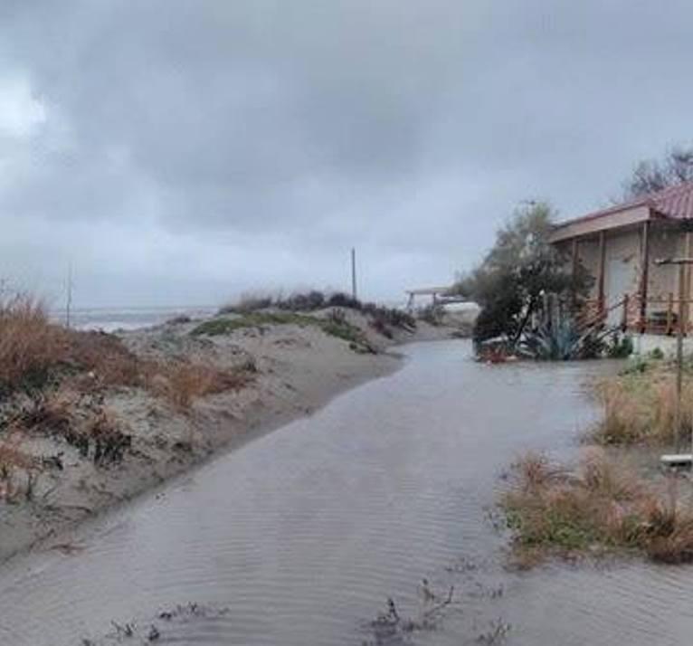 Η επόμενη μέρα στα πλημμυρισμένα παράλια της Λάρισας (ΦΩΤΟ)