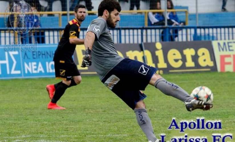 Ο ποδοσφαιριστής Τάσος Κουρδής, ο οδηγός της μηχανής που ακρωτηριάστηκε σήμερα στη Λάρισα