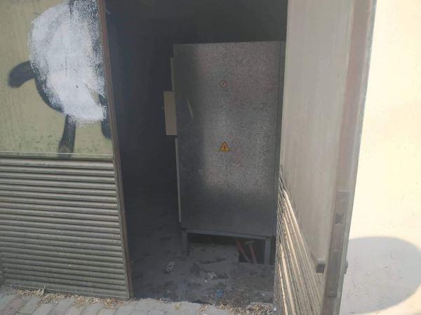 Ισχυρή έκρηξη στα δικαστήρια της Λάρισας - Χωρίς ρεύμα μέρος του κέντρου και συνοικιών της πόλης (φωτό - video)