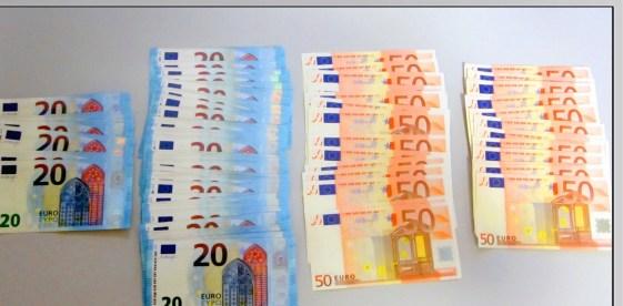 """""""Τουρίστες"""" γέμιζαν την αγορά της Λάρισας με πλαστά χαρτονομίσματα! (φωτό)"""
