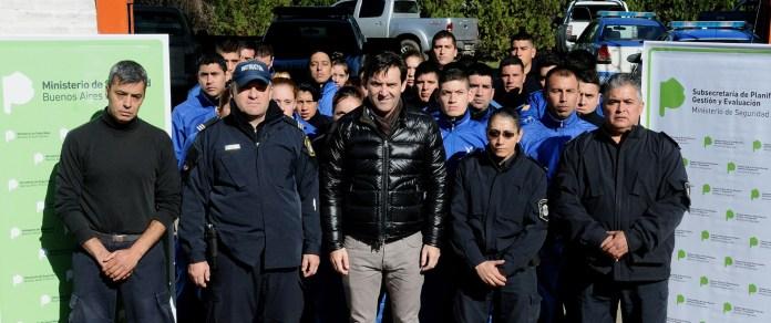 Reentrenamiento de Policía Local de Quilmes (1)