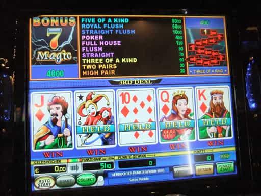 オンラインカジノのビデオポーカーとは何