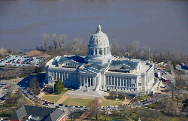 Missouri Capitol Building in Jefferson City.
