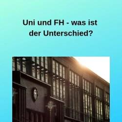 Uni und FH - was ist der Unterschied