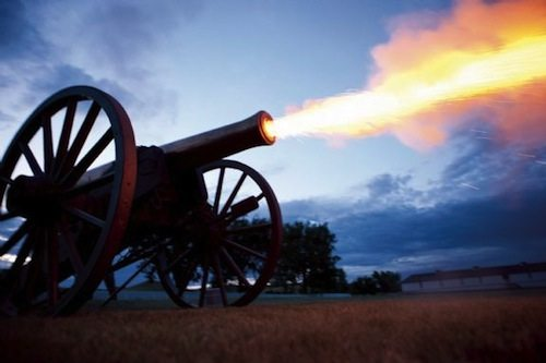 10. Cannon