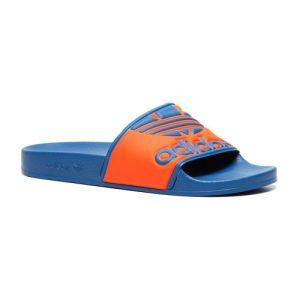 Adidas Adilette Trefoil slippers blauw/oranje