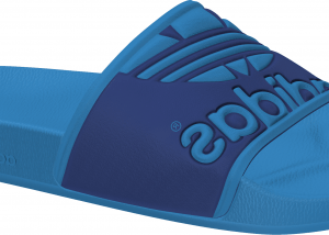 Adidas Adilette Trefoil slippers blauw
