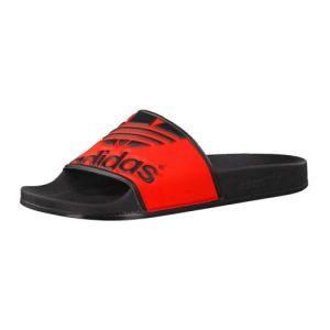Adidas Adilette Trefoil slippers zwart/rood