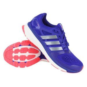 Adidas Energy BOOST ESM hardloopschoenen dames paars/zilver