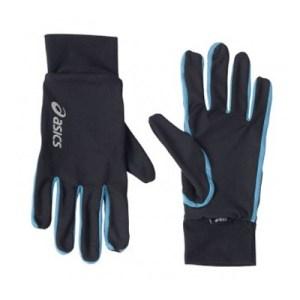 Asics Basic hardloophandschoenen zwart/blauw