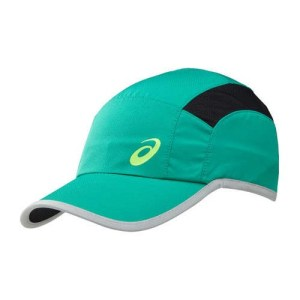 Asics hardloop cap groen/zwart