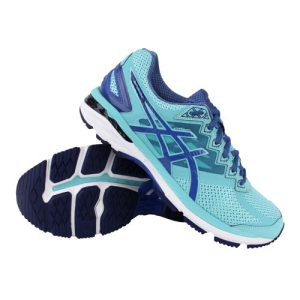 Asics GT-2000 4 hardloopschoenen dames aqua/blauw