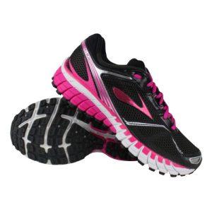 Brooks Aduro 3 hardloopschoenen dames zwart/roze
