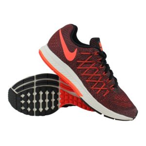 Nike Air Zoom Pegasus 32 hardloopschoenen dames zwart/oranje