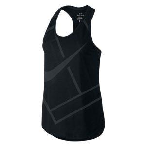 Nike Baseline Tank top dames zwart
