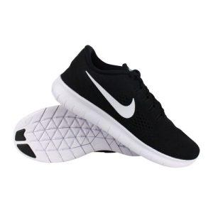 Nike Free Run hardloopschoenen heren zwart/wit