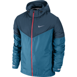 Nike Vapor hardloopjack heren blauw/rood