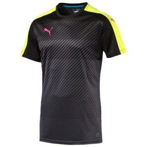 Puma Glory trainingsshirt heren zwart/lime