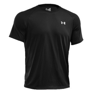 Under Armour Tech shirt heren zwart/wit