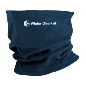 Winter-Geest fleece col marine