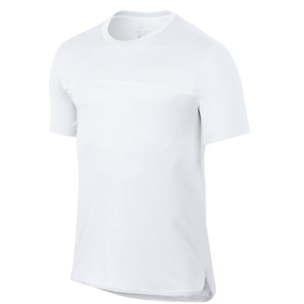 Nike T-shirt tennis heren Challenger wit