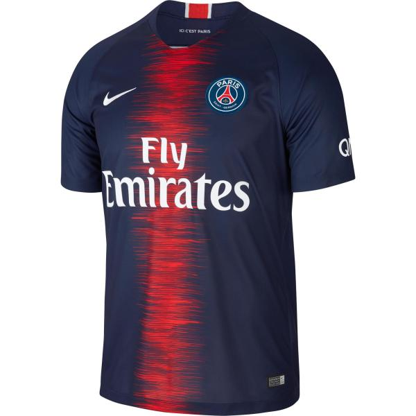 Nike Voetbalshirt PSG Thuisshirt 18/19 volwassenen blauw/rood