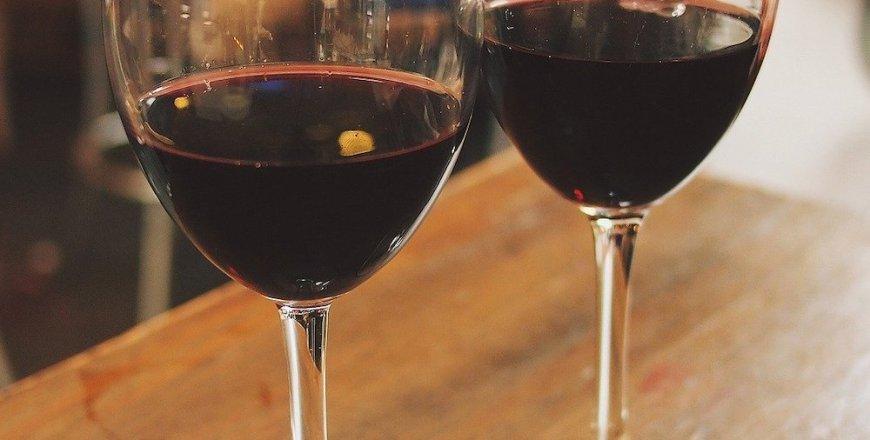 Rotwein quadratisch