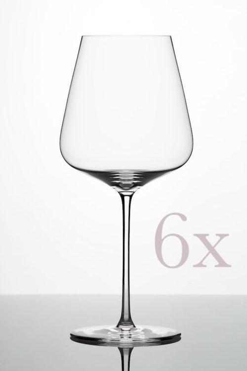 ZALTO Bordeaux-Glas 6er Pack
