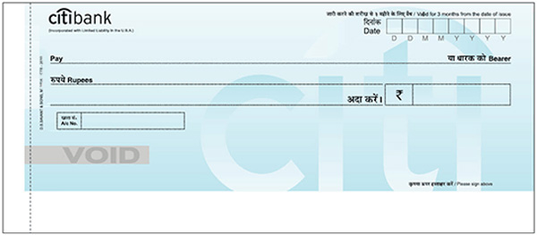 Citi Check Account Number