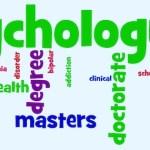 psychology word cloud