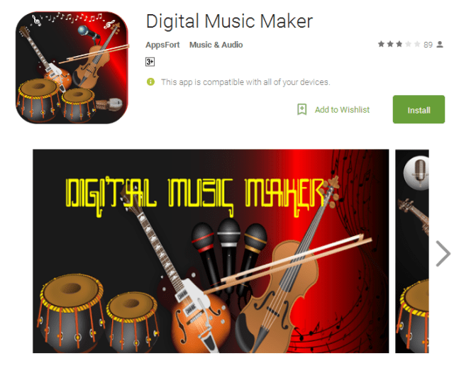 Digital Music Maker Android Apps