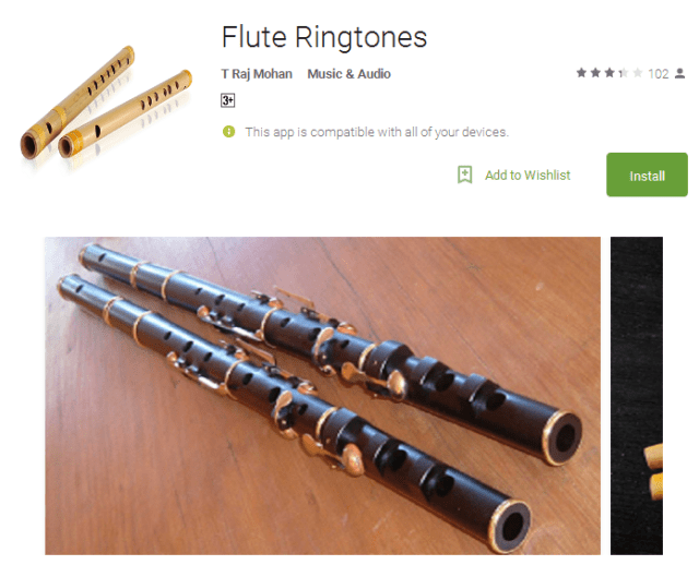 Flute Ringtones Android Apps