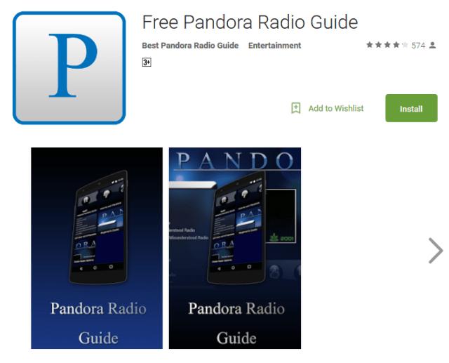 Pandora free online radio player