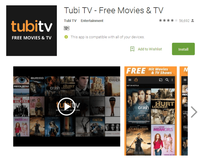 Tubi TV Free Movies TV Android Apps