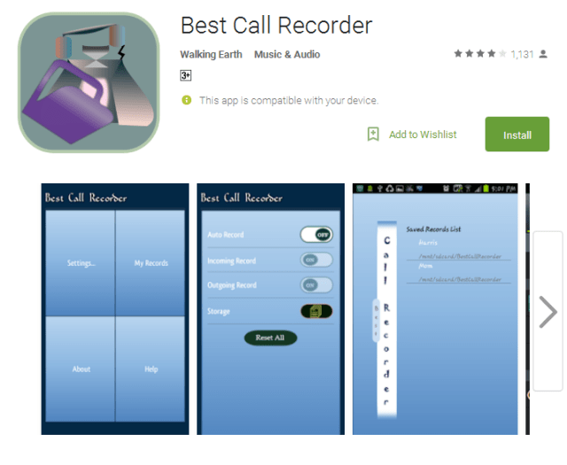 Best Call Recorder Android Apps