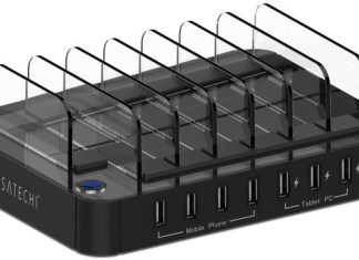 USB Charging Stations With Storage