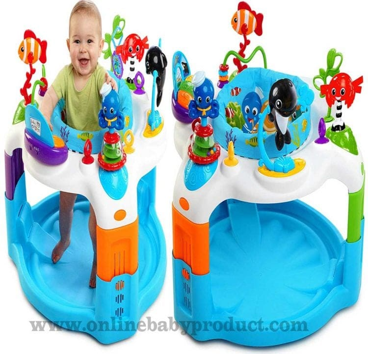 518430955 Baby Einstein Rhythm of The Reef Activity Saucer Review
