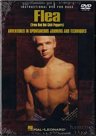 Flea: Adventures In Spontaneous Jamming And Techniques DVD. For Bass Guitar