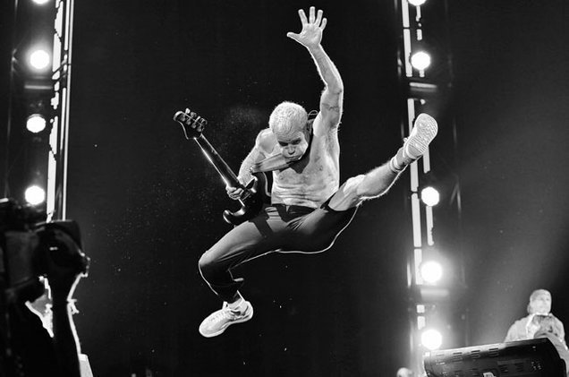 Flea, Red Hot Chili Peppers.