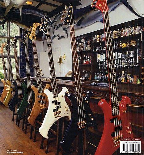 John Entwistle's iconic basses