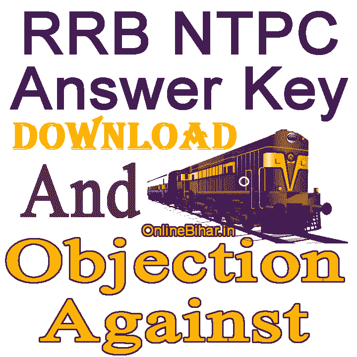 RRB NTPC Answer Key 2021 Download
