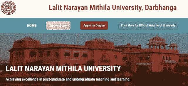 Lalit Narayan Mithila University