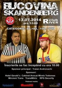 Concurs Skandenberg Radauti 2014