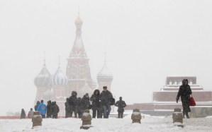 Moscova sub zapada